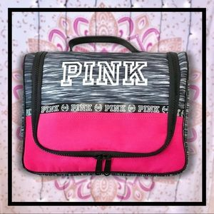 Pink Hanging Travel/Toiletry/Makeup Bag NWOT